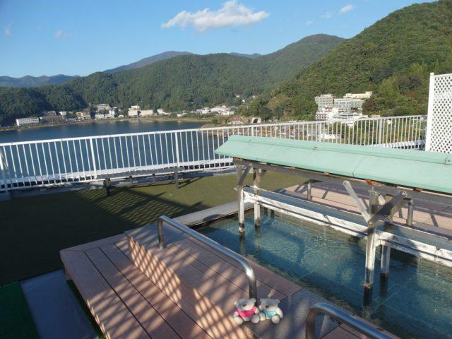 Konansou Mount Fuji Hotel FootBath Lake Kawaguchiko