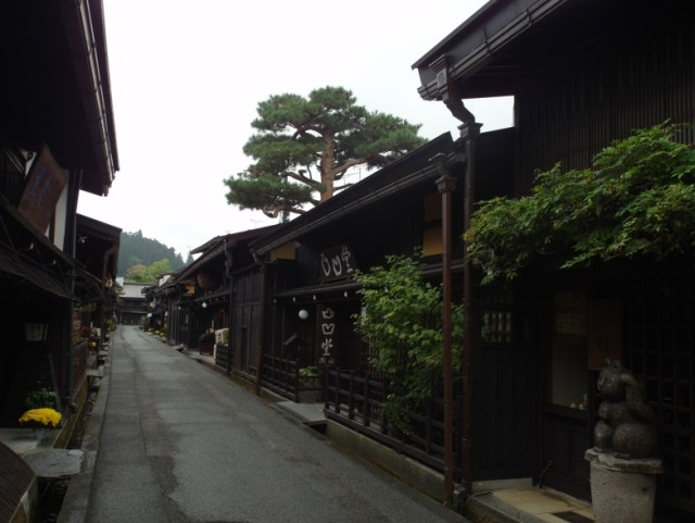 Well-preserved Edo-period streets of Takayama