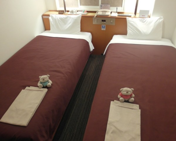 2 Single Beds Country Hotel Takayama Review