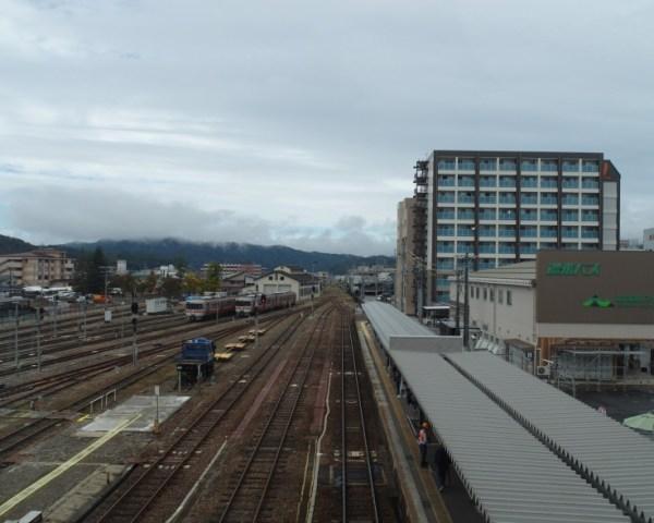 Takayama JR Train Station