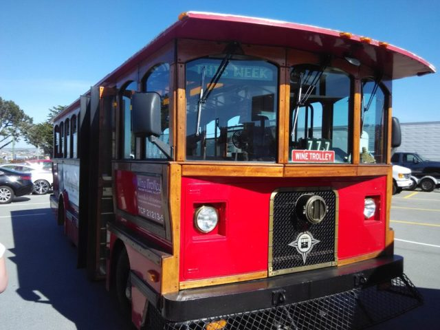 Monterey Wine Tour Historic Trolley