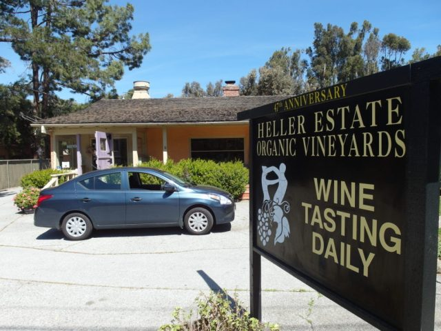 Heller Estate Organic Vineyards Carmel