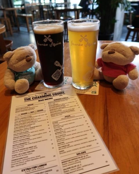 Jack of Spades / Swindler and the bar menu of the Charming Squire with 2bearbear