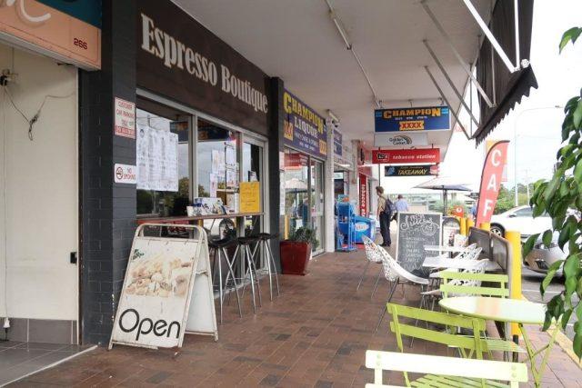 Espresson Boutique next to Eagle Junction Station Brisbane