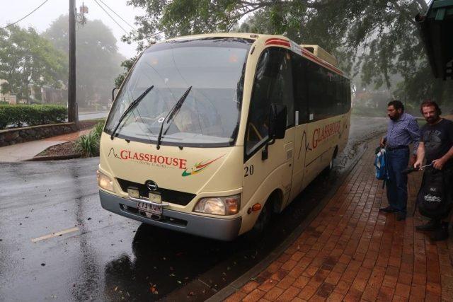 Arriving at Montville Queensland - Raining :(