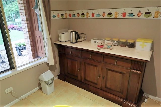 Pantry of AirBnB Flaxton