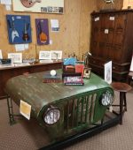 Table converted from Jeep Flaxton Barn