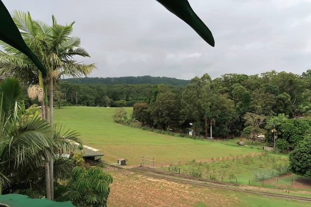 View from the Top of The Big Pineapple Woombye Queensland