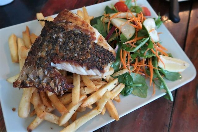 Fish of the Day Moffat Beach Brewing Co.