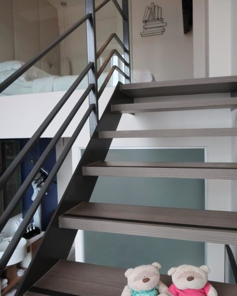 Staircase up Loft Room Mercure Singapore Bugis