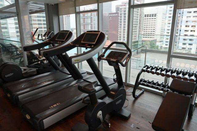 Gym of Mercure Singapore Bugis
