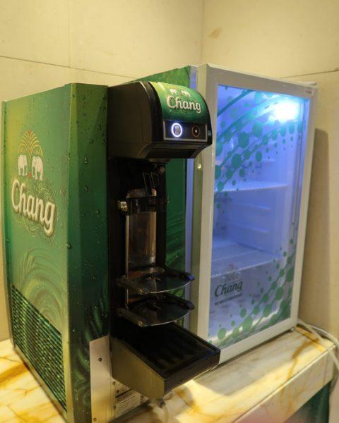 Chang Beer dispensing machine SilverKris Lounge