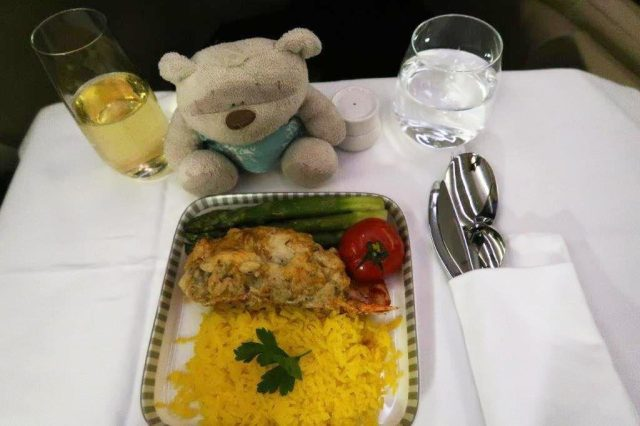 Classic Lobster Thermidor Singapore Airlines