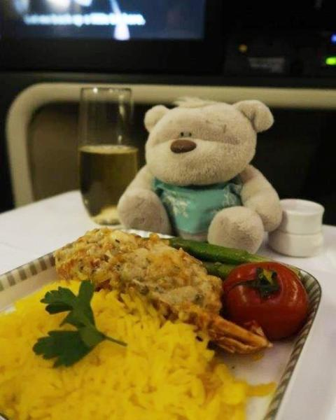 SQ Business Class Classic Lobster Thermidor