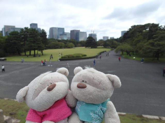 2bearbear @ Tokyo Imperial Palace East Gardens