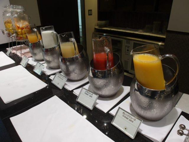 Fruit Juices Buffet Spread Konansou Hotel Mount Fuji