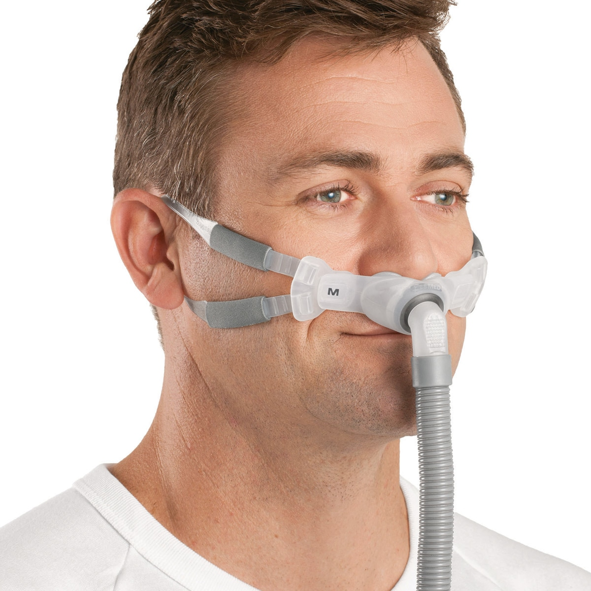 resmed swift fx bella nasal pillows cpap bipap mask with headgear