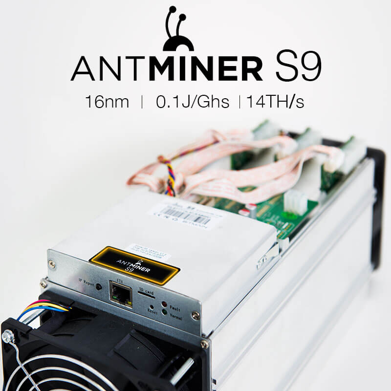 сколько майнит antminer s9