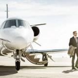 За биткоин — полёт на частном джете