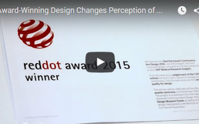 SAP wins prestigious Red Dot Design Award for the user experience design of SAP Fiori