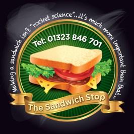 Sandwich Stop Logo Design