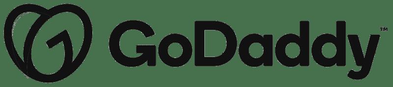 Godaddy text logo