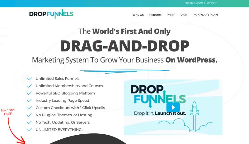 DropFunnels Marketing System