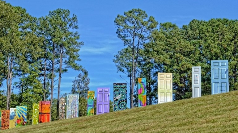 Doors in Sims Park