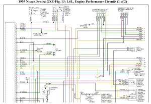 Wiring Diagram for Nissan Sentra Gxe 1995: Wiring Problem,