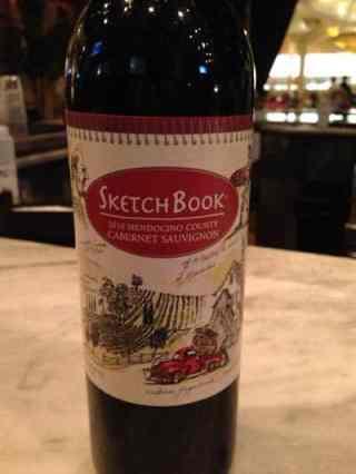 2010 Sketchbook Cabernet Sauvignon