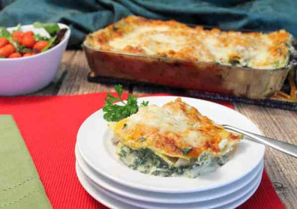 White Chicken Lasagna 3 | 2 Cookin Mamas