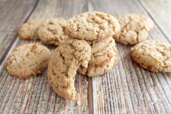 Gluten free Peanut Butter Cookies bite | 2 Cookin Mamas