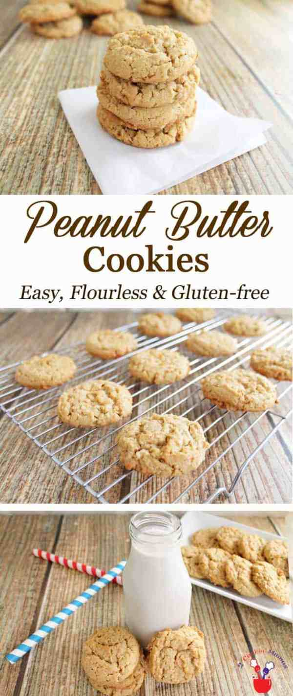Gluten free Peanut Butter Cookies Bake up these peanutty, soft & chewy, gluten free peanut butter cookies for a delicious snack. They won't last long so grab one while you can!