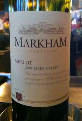 2008 Markham Merlot