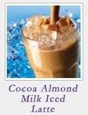 Cocoa Almond Milk Iced Latte
