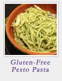 Gluten Free Pesto Pasta