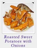 Roasted Sweet Potatoes with Onions