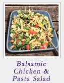 Balsamic Chicken and Pasta Salad