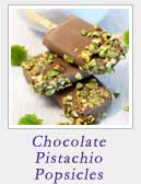 Chocolate Pistachio Popsicles | 2 Cookin Mamas