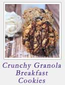 Crunchy Granola Breakfast Cookies