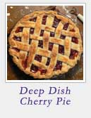 Deep Dish Cherry Pie | 2CookinMamas