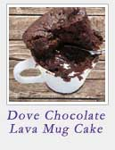 Dove Chocolate Lava Mug Cake