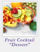 Fruit Cocktail Dessert