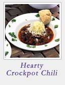 Hearty Crockpot Chili