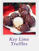 Key Lime Truffles | 2CookinMamas