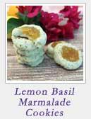 Lemon Basil Marmalade Cookies | 2 Cookin Mamas