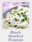Ranch Smashed Potatoes | 2CookinMamas