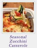 Seasonal Zucchini Casserole