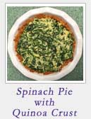 Spinach Pie with Quinoa Crust | 2CookinMamas