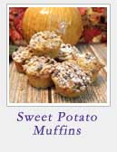 Sweet Potato Muffins | 2 Cookin Mamas